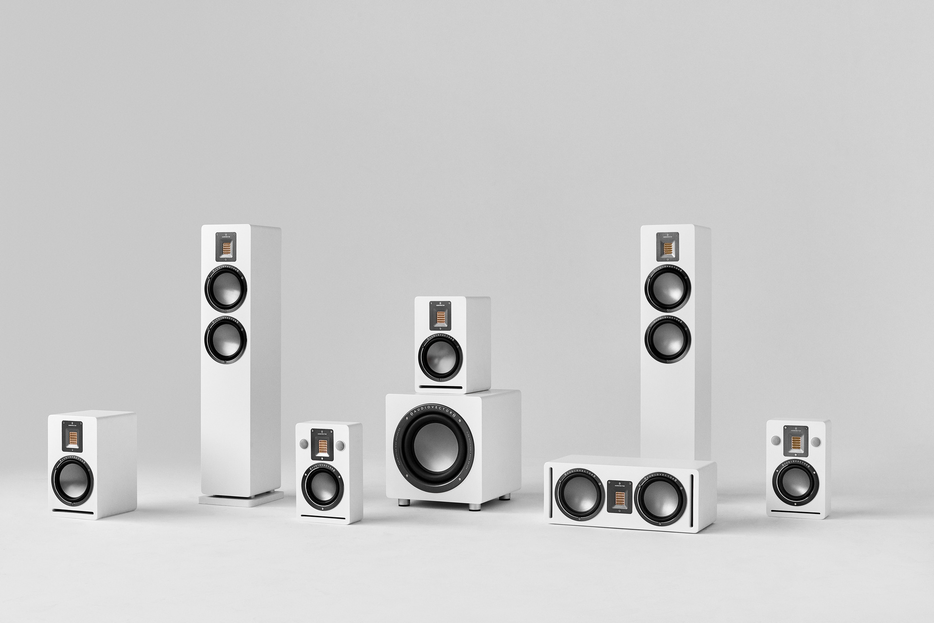 audiovector qr series loudspeakers