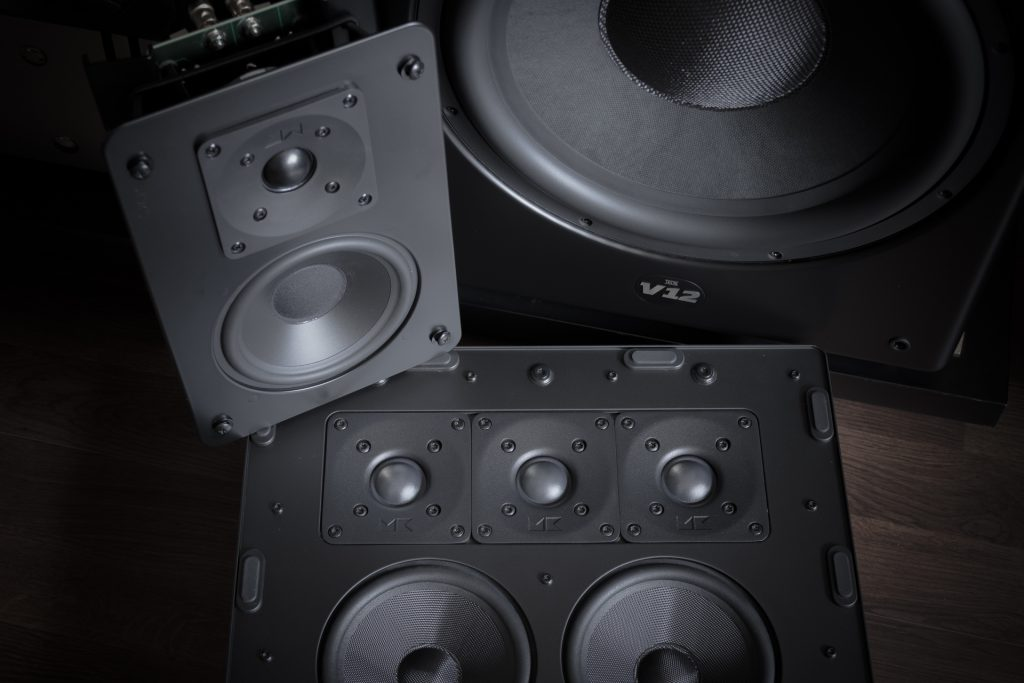 M&K SOUND 5.1 Home Theater System
