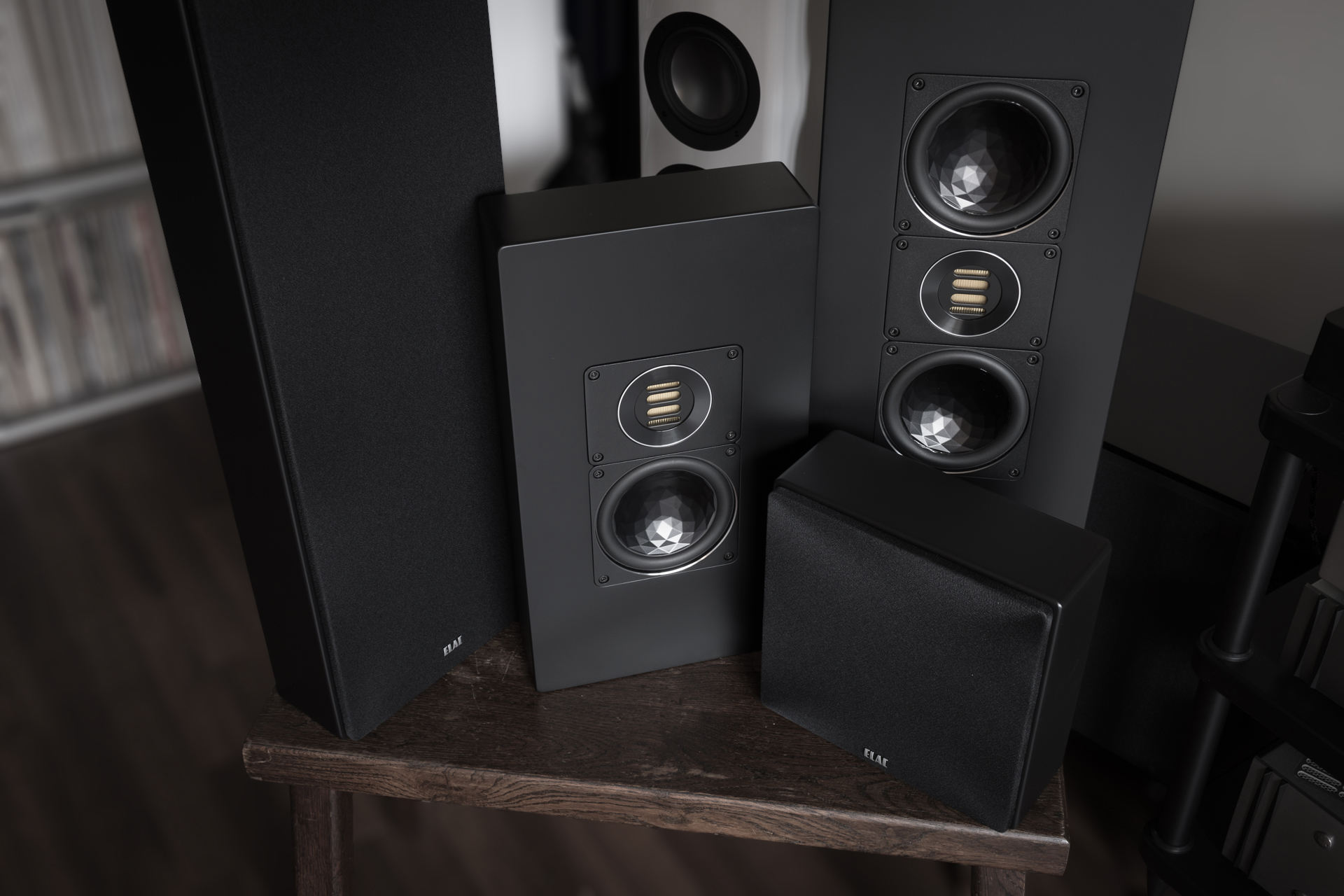elac on wall speakers