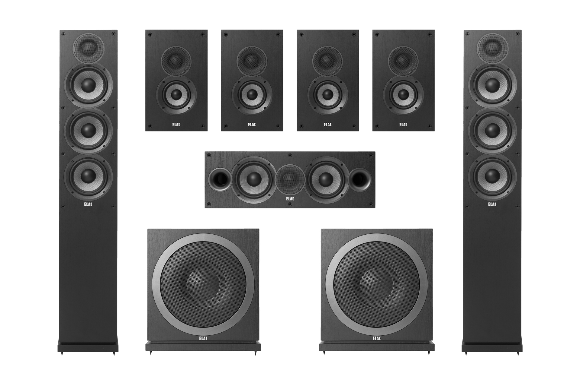 elac debut 7.2 home theater system