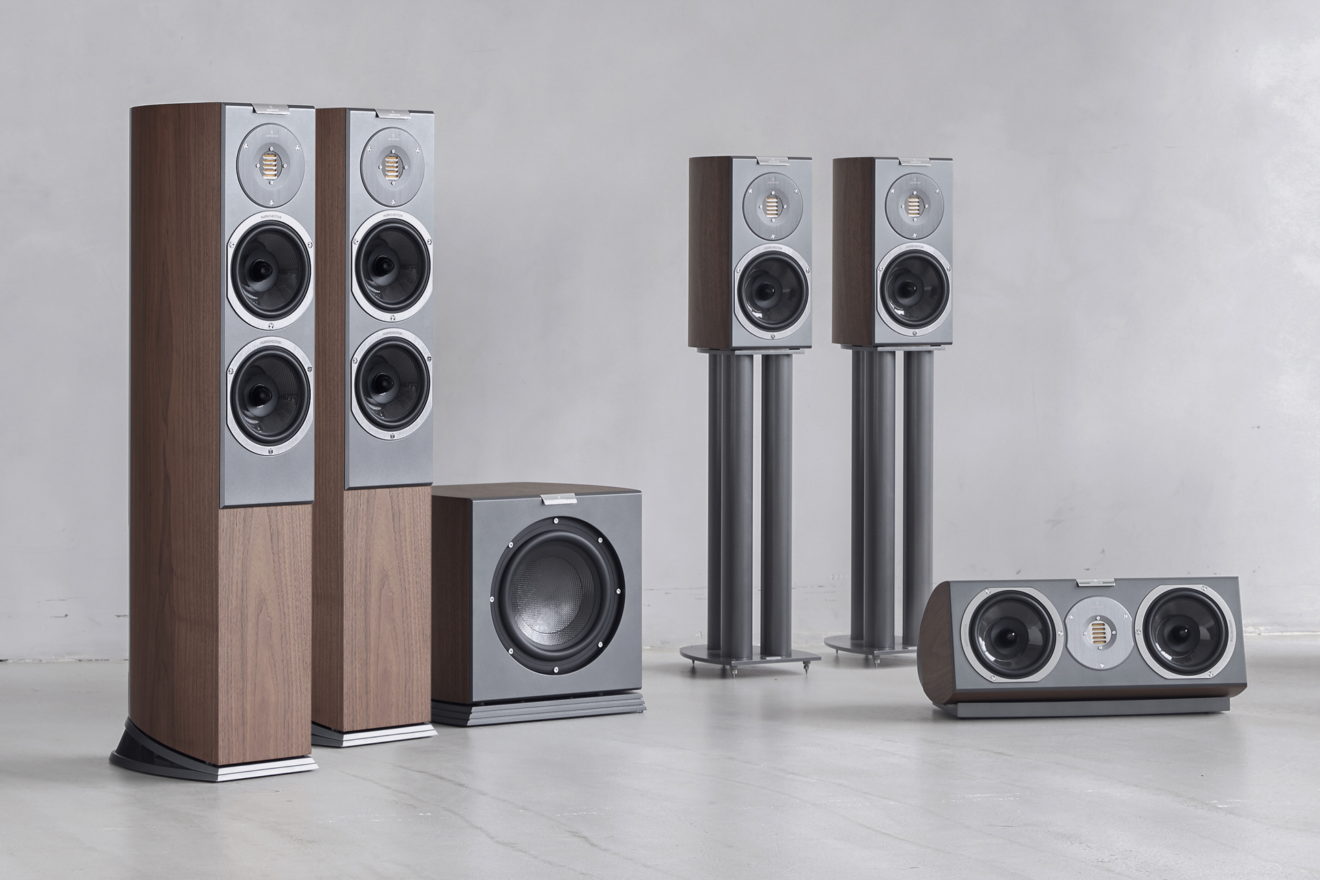 audiovector r series 5.1 home theater system