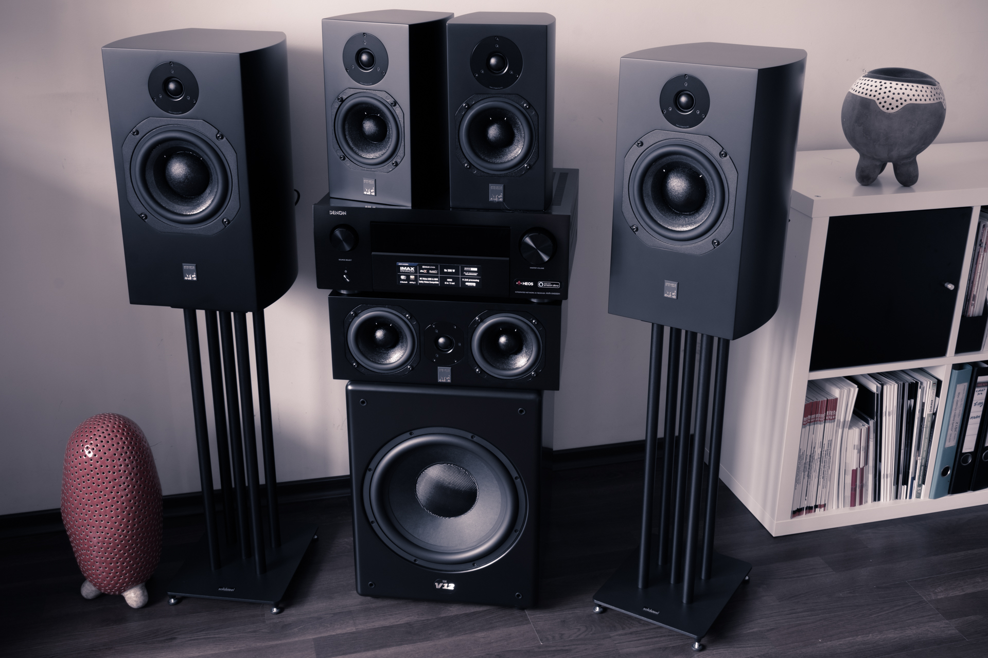 atc scm19 scm7 loudspeakers mk sound v12 subwoofer home theater