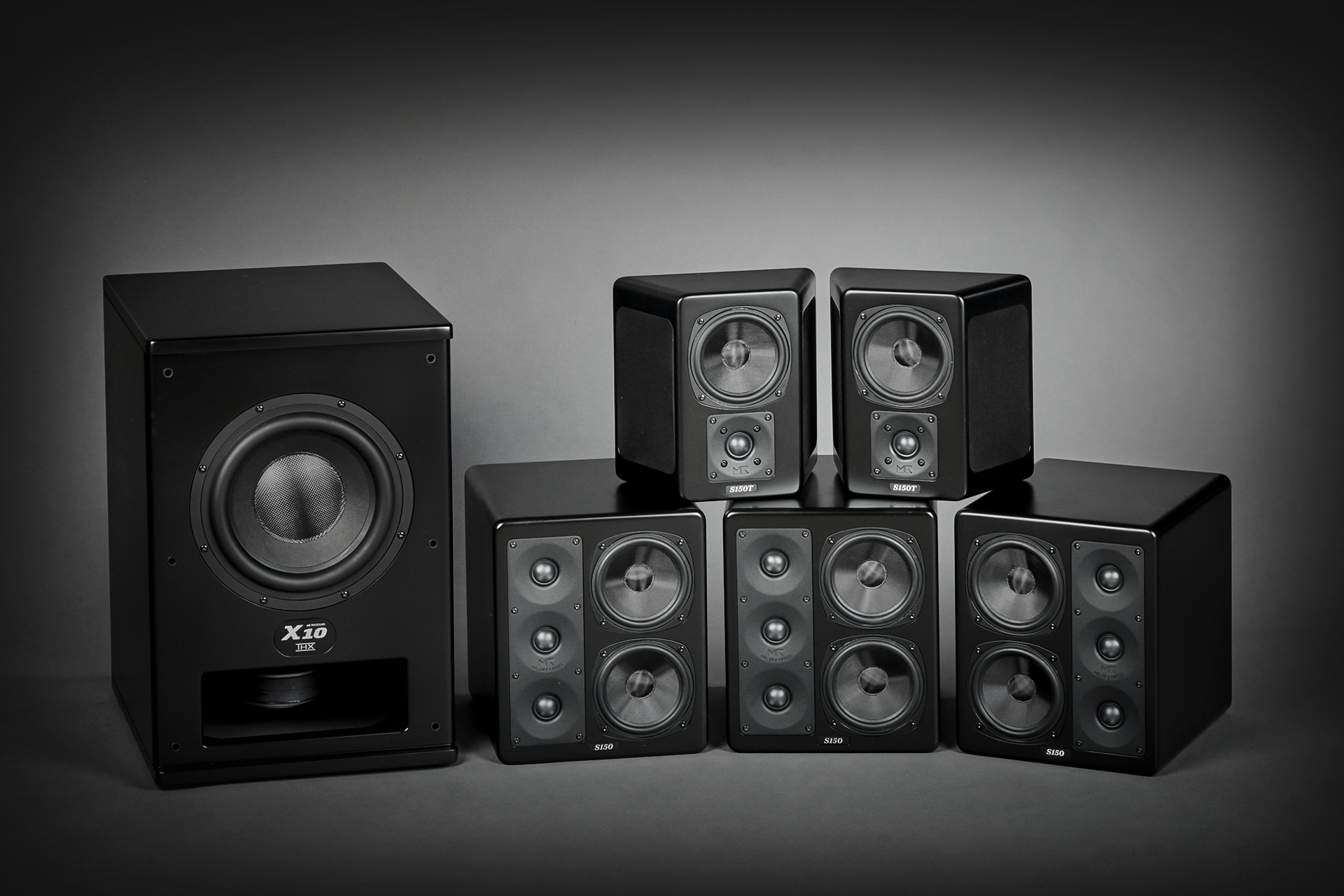 M&K Sound home theater system