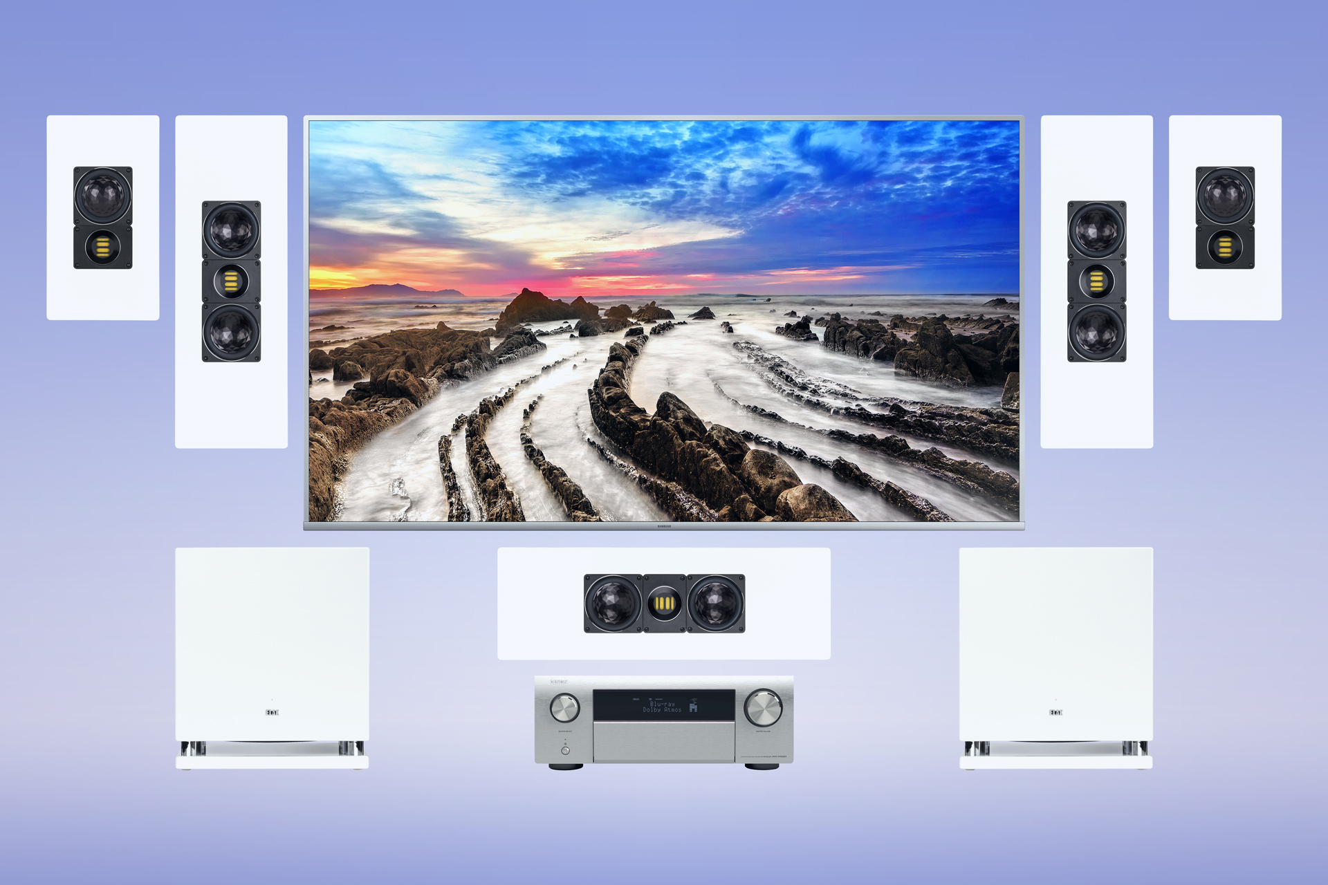 ELAC On-Wall WS Line 5.2 Home Cinema System