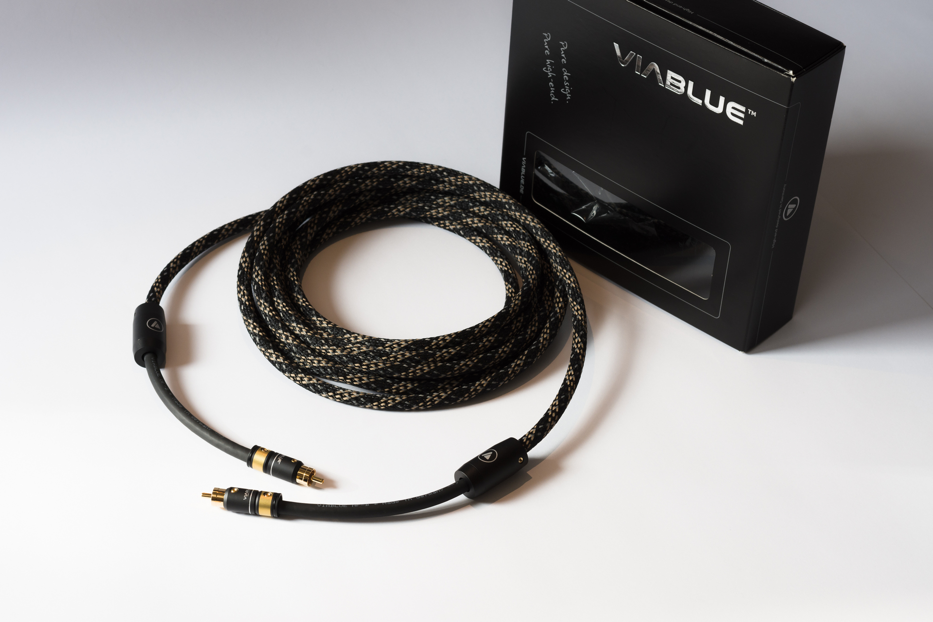 VIABLUE NF-B SUBWOOFER RCA CABLE