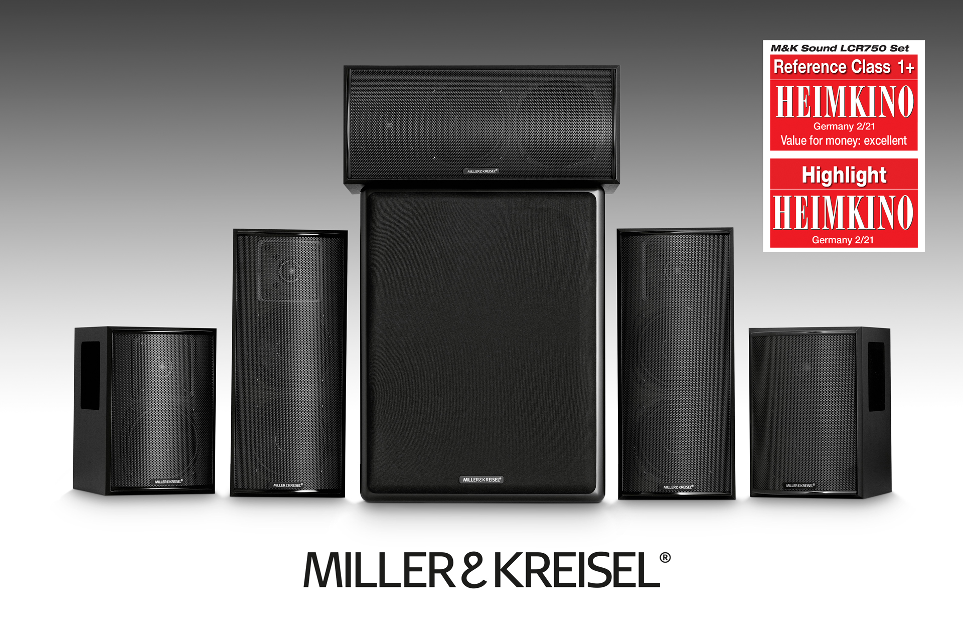 Miller & Kreisel 750 Series 5.1 Home Theater System